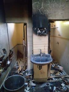 शिवपुरी : चोरी के बाद घर में लगाई आग, गैस सिलेंडर फटा, लाखों का नुकसान