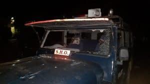 मुरैना में बेख़ौफ़ बदमाश, चोर को पकड़ने गई पुलिस पार्टी पर लाठी डंडों से हमला