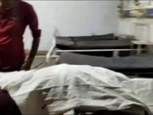 सरपंच के भाई की गोली मारकर हत्या, चाचा को जीप से बांधकर घसीटा, गांव में तनाव
