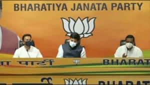 कांग्रेस को बड़ा झटका, दिग्गज नेता जितिन प्रसाद भाजपा में शामिल