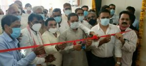 पशुपालन मंत्री प्रेम सिंह पटेल ने 4 करोड़ 61 लाख रूपये की लागत के नवीन दुग्ध संयंत्र का किया लोकार्पण