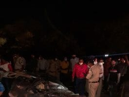 sehore road accident