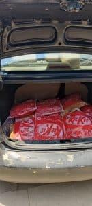 Morena : कार से 82 किलो गांजा जब्त, तीन आरोपी गिरफ्तार