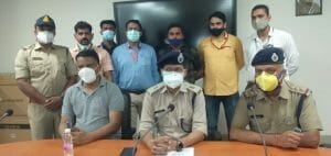 Gwalior News: कार लूट कर फरार हुए दो आरोपी 36 घंटे में गिरफ्तार, कार बरामद